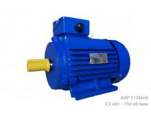 Электродвигатель АИР 112 МА8 - 2,2/750