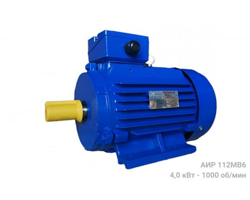 Электродвигатель АИР 112МВ6 - 4/1000 | АИР 112 МВ6