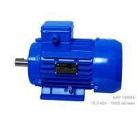 Электродвигатель АИР 180М6 - 18,5/1000 | АИР 180 М6