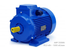 Электродвигатель АИР 250М6 - 55/1000