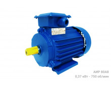 Электродвигатель АИР 80 А8 - 0,37/750