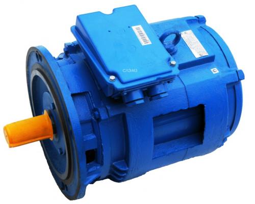 Лифтовой электродвигатель 4АМН180SA6/18НЛБ (3,55/1,18 кВт 940/283)