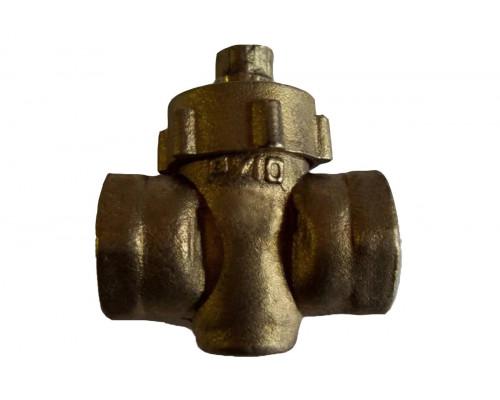 Кран 11б6бк Ду-25 Ру-1 латунный
