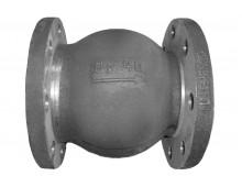 Клапан обратный 19нж63бк Ду-150 Ру-40 поворотный фланцевый