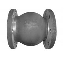 Клапан обратный 19нж63бк Ду-25 Ру-40 поворотный фланцевый