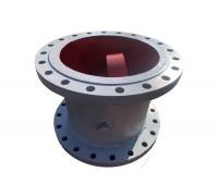Клапан обратный 19с47нж Ду-150 Ру-40 поворотный фланцевый/приварной