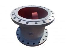 Клапан обратный 19с47нж Ду-800 Ру-40 поворотный фланцевый/приварной