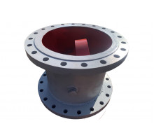 Клапан обратный 19с47нж Ду-100 Ру-40 поворотный фланцевый/приварной