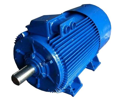 Электродвигатель 110 кВт 1000 об/мин подключение 380В 660В