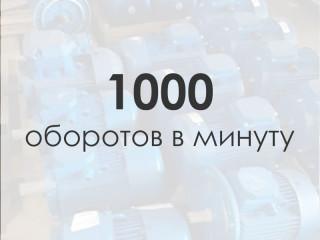 Электродвигатель 1000 об/мин