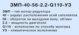 3МП-125 расшифровка