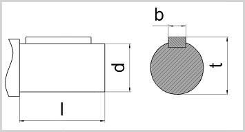 Вал цилиндр редуктора с зацеплением новикова ц2у 500 1ц2у 500