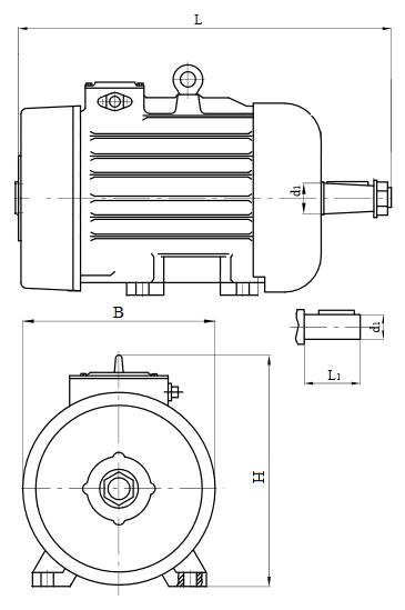 Двигатель МТН габариты