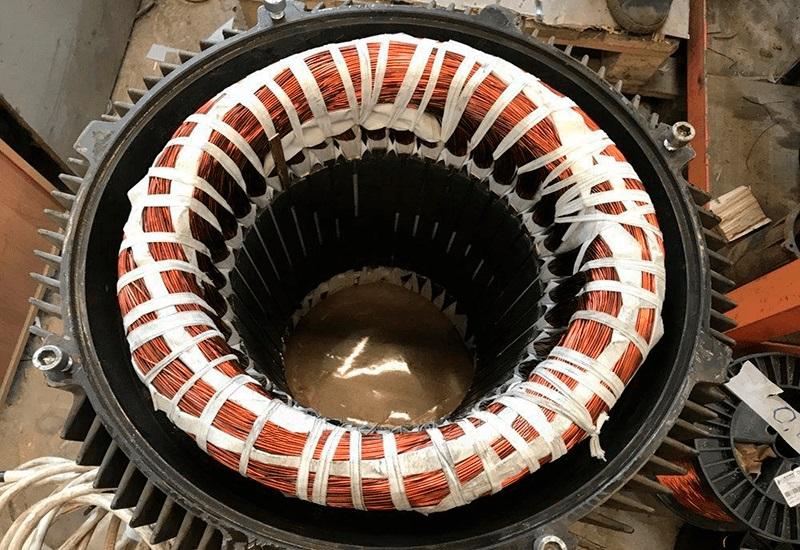 Перемотка и ремонт электродвигателей трехфазных