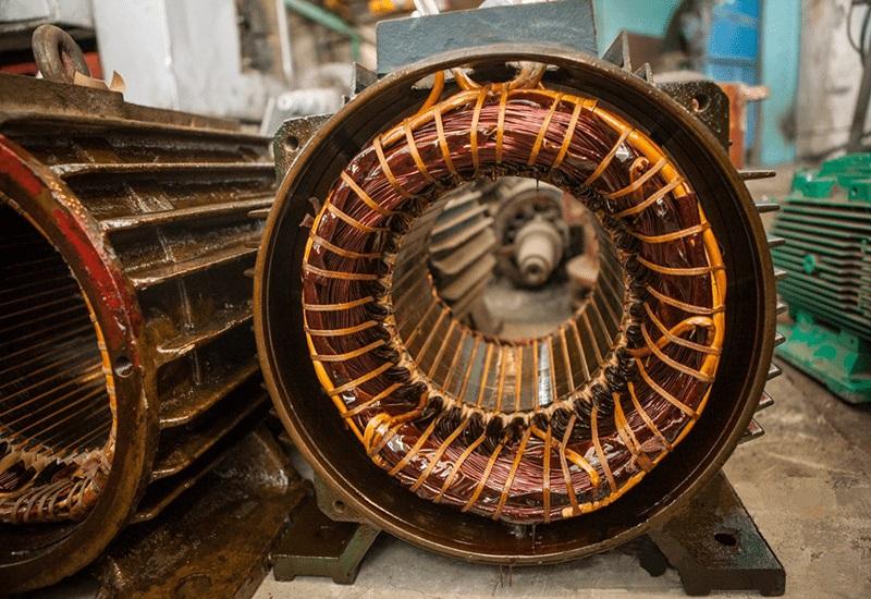 Текущий ремонт асинхронных электродвигателей