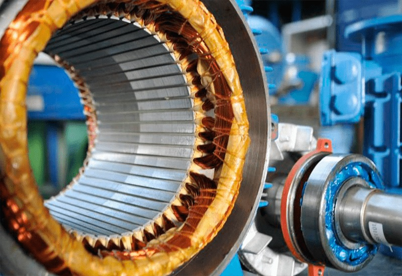 Перемотка ротора статора двигателя