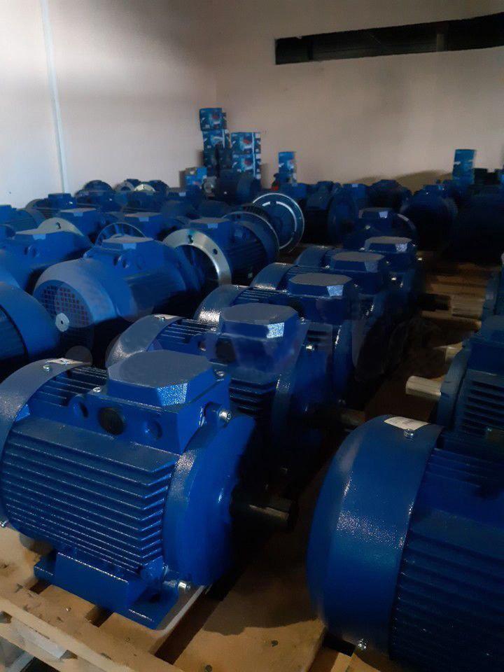 Склад электродвигателей АИР 2 6 10 12 20 25 40 50 100 кВт
