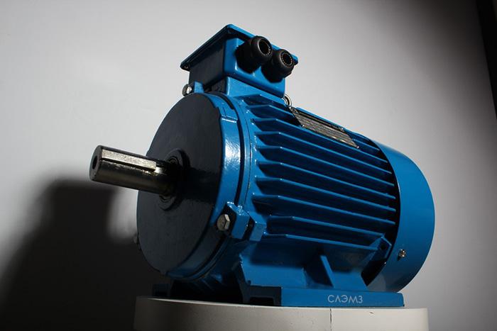 Трехфазный асинхронный электродвигатель АИР56 от завода изготовителя у1, у2, у3