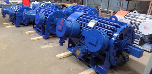 электродвигатели ВАО на складе