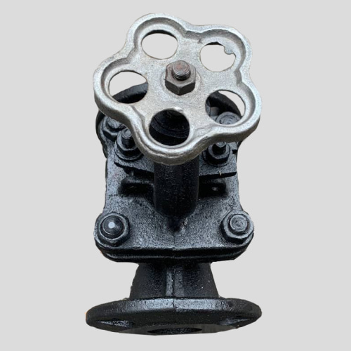 Вентиль чугунный Ду-32 Ру-25 для аммиака