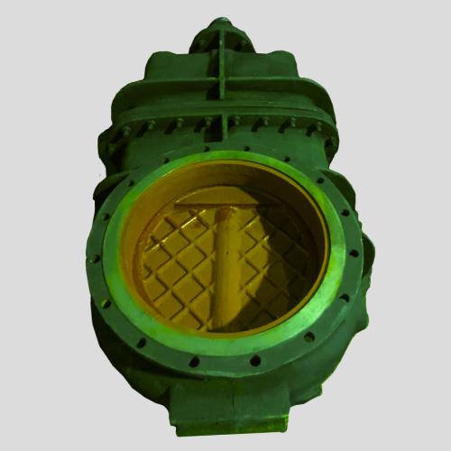 Купить чугунную засувку 30ч925бр Ду600 водяную параллельную фланцевую сварную