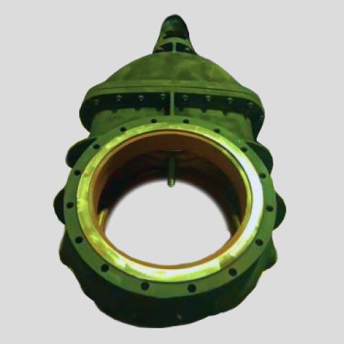 Фланцевая задвижка из чугуна 30ч25БрМ Ду600 с электроприводом 600 мм клинкетная шаровая