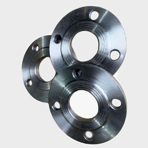 Фото фланеца стального плоского толщина 8 отверстий Ду80 мм