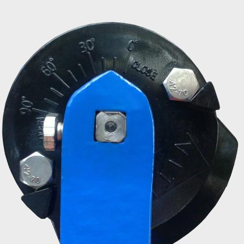 Задвижка клапан баттерфляй бабочка для воды с резиной
