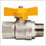 запорная арматура для газа, газовых магистралей низкого и среднего давления