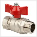 Запорно-регулирующая арматура для воды в водопроводе