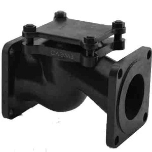 Купить клапан обратный для вакуумных станций, бензонасосов, аквариумов, камазов, на вытяжку, вентиляцию Dn-150