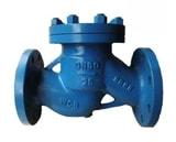 Обратный клапан 16ч6р Ду150 Ру16 из чугуна для воды 16ч6п