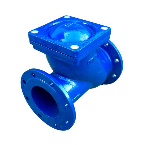Клапан обратный шаровый канализационный производство Россия