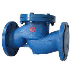 Обратный клапан 16ч6бр 16ч6п Dn150 для дизелей, скважин