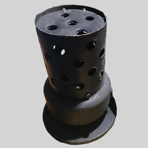 Обратный клапан приемный с сеткой 16ч42р 80 мм Ру-2,5 фланцевый чугунный