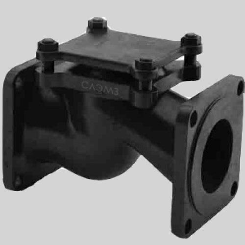 зворотній клапан поворотный 16кч9п Ду65 Ру25