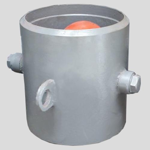 Обратный клапан 19с47нж Ду500 Ру40 фланцевый