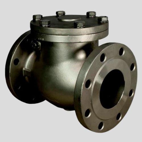 зворотній клапан поворотный 19с53нж Ду50 Ру40