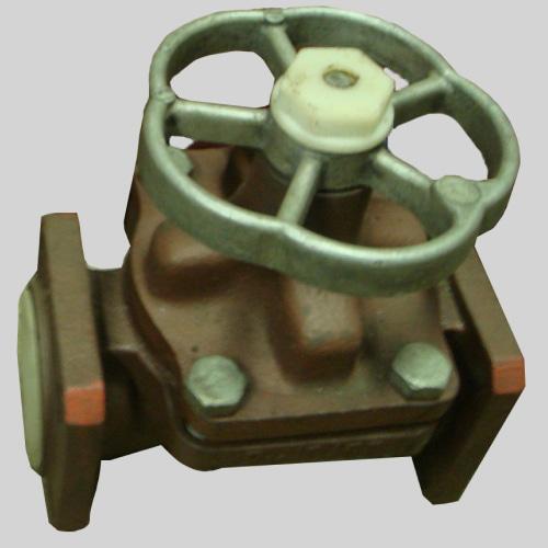 Фланцевый клапан Ду-15 Ру-10 мембранный