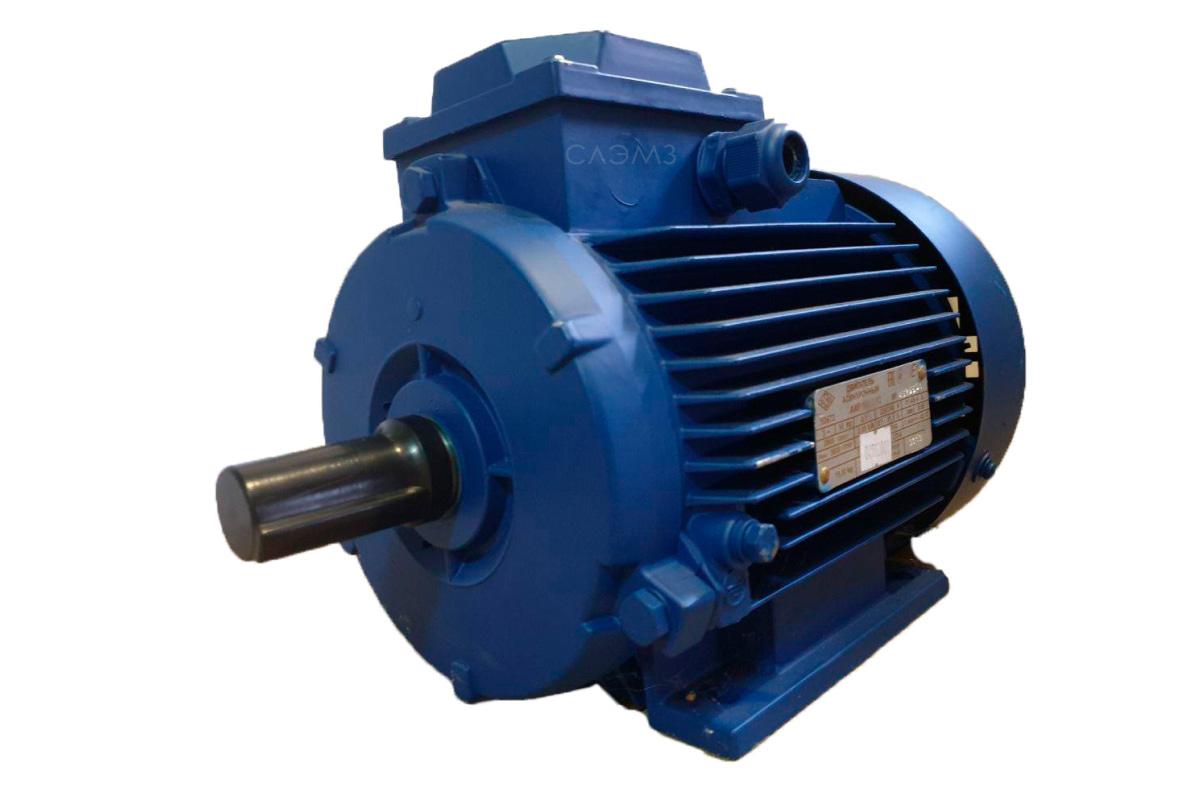 Эл двигатель АИР132М2 11 квт 3000 об мин диаметр вала 38 мм