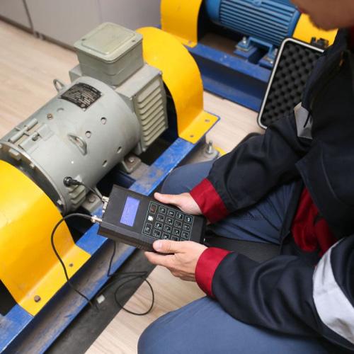 Диагностика вибрации подшипников электродвигателя