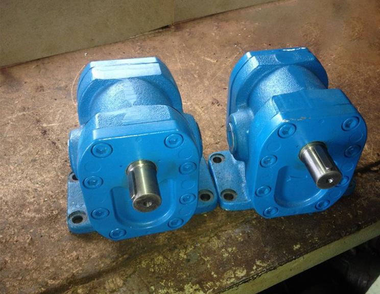 Силовой гидравлический насос шламовый под высокое давление и мощность