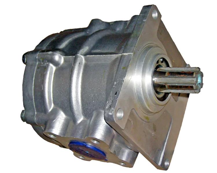 Гидронасос шестеренный НШ систем гидравлики на камаз и трактор МТЗ