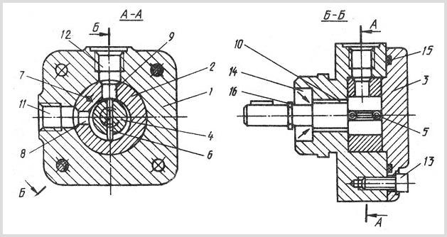 устройство гидравлического насоса С12-41 для СОЖ. Фото