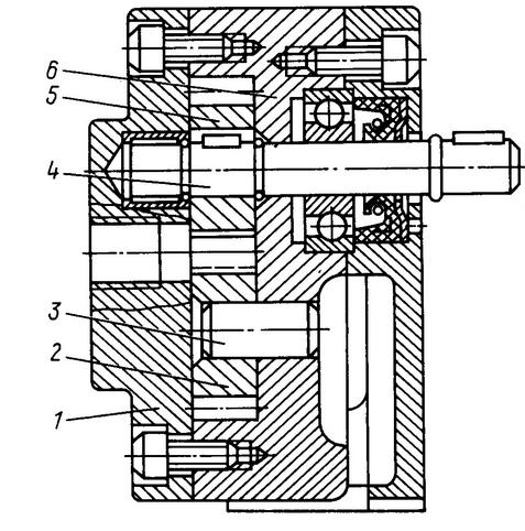 Устройство мазутного насоса Г11а