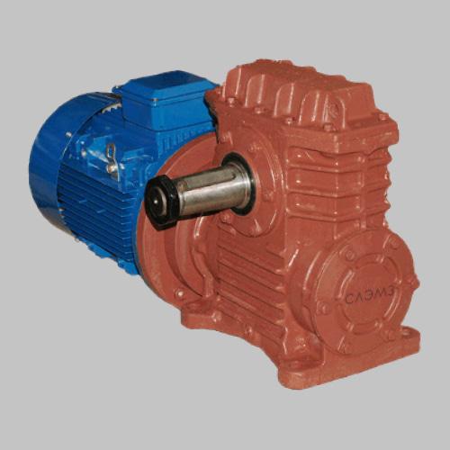 червячный одноступенчатый мотор-редуктор мч-160, 1МЧ-160, 2МЧ-160