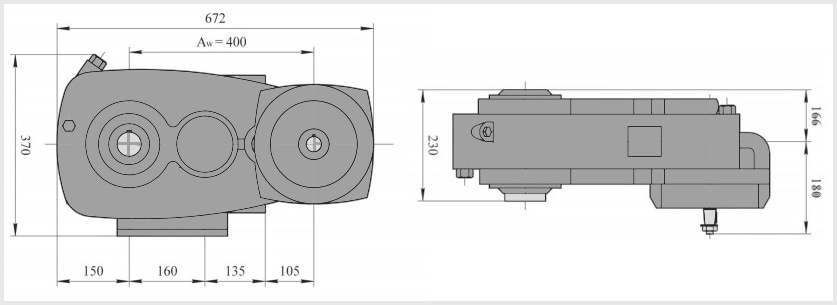 чертеж кранового редуктора а-400
