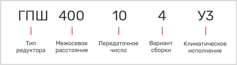 Расшифровка маркировки гпш-400-16-12-у3