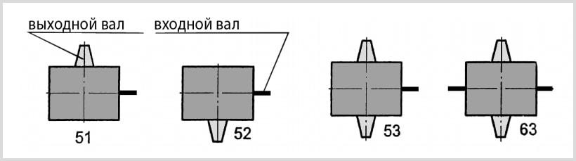 Варианты сборки лифтового редуктора