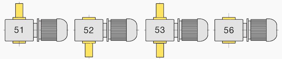 Вариант сборки червячного тихоходного мотор-редуктора мч